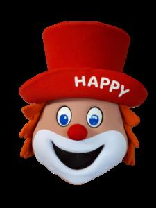Maskottchen Happy für Familotel